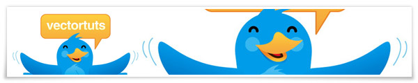 Twitter bird vector tutorial